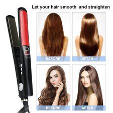 Professional Women Irons Salon Ceramic Hair Styler Straightener Heat Settings UK
