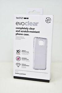 Tech21 Evo Clear Case for Motorola Moto G Power 5G (2021) - Clear NEW !!!