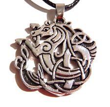 KELPIE NECKLACE Celtic horse demon Hippocampus sea horse Norse Irish pendant P2