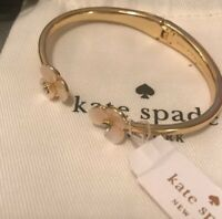 Kate Spade Disco Pansy Mother of Pearl Cuff Bracelet