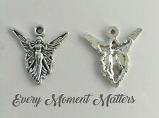 10 X Tibetan Silver Butterfly Angel Fairy Charms Pendants Beads