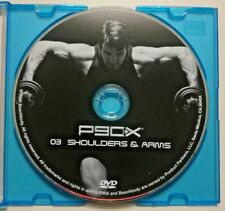 P90X Shoulder & Arm Focused Fitness 3 of 12 Authentic Replacement DVD Jewel Case