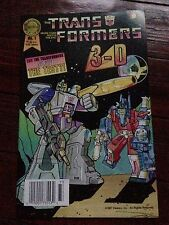 The Transformers In 3-D #1 aka Blackthorne's 3-D Series #25 Fall 1987