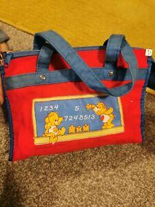 Vintage Care Bear 80s Children's Carry Bag