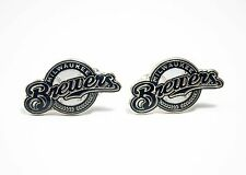 Milwaukee Brewers Cufflinks MLB Baseball