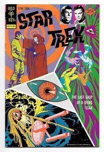 "STAR TREK #30 (5/75 Gold key) VF (8.0) KIRK SPOCK PHOTO COVER! ""DEATH OF A STAR"""