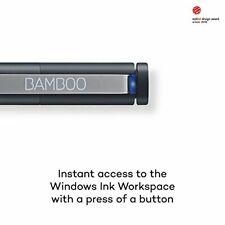 Wacom Bamboo Ink Eingabestift in Schwarz für kreatives Arbeiten - Windows-10