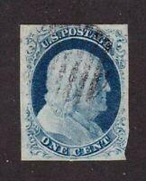 United States stamp #9, used,  SCV $90