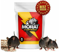Rat Mouse Killer Poison Bait Cereals Effective and Instant Kill 50g x 2 pack
