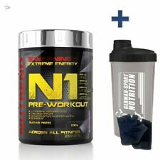 HARDCORE Pre Workout Training Pump L-Citrullin Malat DMAE N1 Nutrend