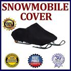 For Polaris 650 Indy XCR 136 2022 Black Snowmobile Sled Storage Cover