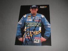 Giancarlo Fisichella signed signiert autograph Autogramm auf Autogrammkarte
