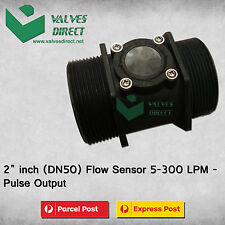 2 inch(DN50) Flow Sensor 5-300 LPM-Pulse Output-Suitable for WaterMe Controller