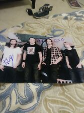 AEGES Rock Band Musicians signed 8x10 Photo