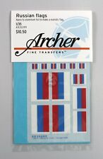 Archer 1/35 Russian Federation Flags (10 flags, 4 sizes) [Decal Diorama] AR35399