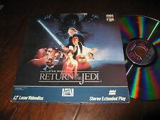 Star Wars Return of the Jedi Laserdisc Digital Original VG++ Rogue One Vintage
