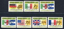 HONDURAS 1968 Olympiade Olympics Mexico 702-8 ** MNH