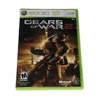 Gears of War 2 (Xbox 360, 2008) Complete w/Manual