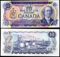 CANADA 10 DOLLARS ND 1971 P 88 d LAWSON / BOUEY AUNC ABOUT UNC