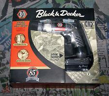 Taladro Inalámbrico Black & Decker RD1440K - Edición 85º Aniversario - Nuevo