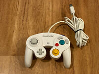 DOL-003 Official OEM Authentic Nintendo GameCube Controller WHITE VG/Tight Stick