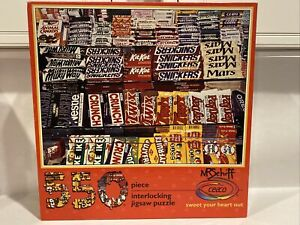 Ceaco SWEET YOUR HEART OUT 550 Piece Puzzle Vintage Candy Bars SEALED