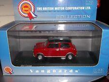 Vanguards Corgi VA02500 Mini Cooper Red with Black roof