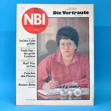 DDR NBI 10 1987 Peter Maffay Bad Langensalza Handball Heinz Rühmann Karl May F