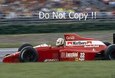 Andrea de Cesaris BMS Scuderia Italia Dallara F190 F1 saison 1990 Photographie 3
