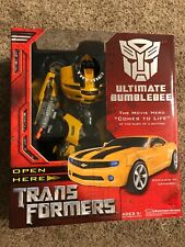 New Hasbro Transformers Movie 2007 Ultimate Bumblebee -  Near Mint Box.
