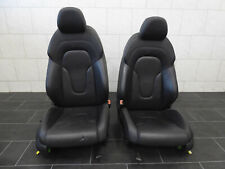 Org Audi TT 8J Coupe Innenausstattung Leder Sport Sitze seats Schwarz R + L