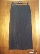 womans long black straight skirt from jake's size 10 approx in v good condition