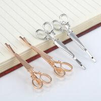 2PCS Novelty Scissors Shape Hair Clip Hair Pin Women Hair Accessory 2 Colors