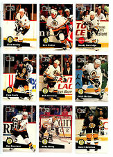 1991-92 PRO SET SERIES #1 HOCKEY BASE SET CHOOSE ANY 10 for $1.95 NM/M