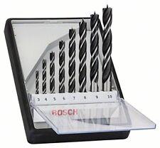 Caja 8 mechas helicoidales madera Bosch 2607010533 resistente Line