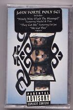 John Forté - Poly Sci (Jul-1998, Columbia (USA) forte rap [PA] Cassette NEW