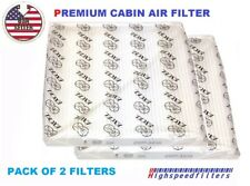 PACK OF 2 CABIN AIR FILTER For NISSAN Altima Maxima Murano Quest