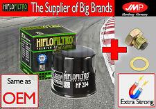 Premium Oil Filter & Magnetic plug - HF204- Yamaha XJ6 600 F Diversion - 2013