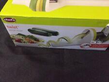 Chef'n Twist Handheld Spiralizer Vegetable Slicer, Green
