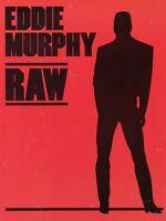 EDDIE MURPHY 1987 RAW TOUR CONCERT MOVIE PROGRAM BOOK-BEVERLY HILL COP-NMT 2 MNT