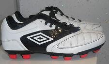 FOOTBALL BOOTS UMBRO SIZE UK 5.5 EUR 38.5 GEOMETRA PREMIER FIRM GROUND WHITE