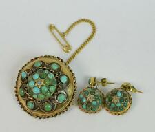 Turquoise Yellow Gold Victorian Fine Jewellery