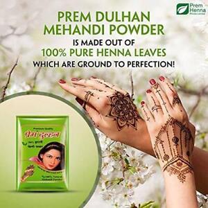 Prem Dulhan Natural Mehandi Powder, 500 g - FREE SHIPPING
