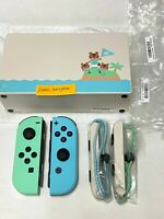 ACNH Nintendo Switch Dock & Joycons Animal Crossing New Horizons Controller