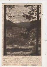 Hotel Klumpp in Widlbad Germany 1927 Postcard 947a