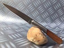 Couteau de poche Corse Vendetta 17 cm avec manche en bois et mitre inox.