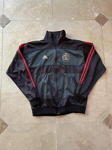 Adidas Mexico National Football Team Full Zip Track Jacket Size Large