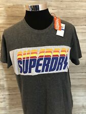 NWT Superdry Japan Gray Graphic Tee Shirt T-Shirt Large New Men Short Sleeve N18
