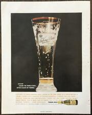 1961 Tuborg Beer PRINT AD Centuries of Danish Bewing Skill
