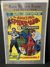 Vintage The Amazing Spiderman Marvel Milestone Edition The Punisher Comic MINT